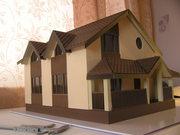 Изготовление макетов домов,  зданий,  коттеджей в уменьшенном масштабе - foto 0