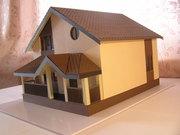 Изготовление макетов домов,  зданий,  коттеджей в уменьшенном масштабе - foto 1